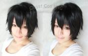 HEAT RESISTANT SAO Sword Art Online Kirito cosplay short wig
