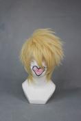 Short AMNESIA-Toma Light Golden Anime Cosplay Wig COS-265A