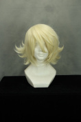 Short TIGER & BUNNY-ORIGAMI CYCLONE Light Yellow Anime Cosplay Wig COS-228A