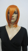 E-busienss 35cm Orange Woman Short Coaplay Wig Party Wigs
