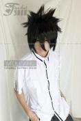 E-busienss Death Note Short Black Naruto Uchiha Sasuke Cosplay Wig