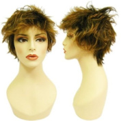 Highlights Shaggy Brunette Winona Wig