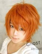 Hot Sell! New Short Orange Anti-Alice Cosplay Wig