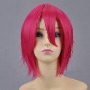 Refuelling Devil Salaman Pink Level Broken Hair Short Hair Cosplay Wig