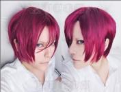 Free! - Iwatobi Swim Club Rin Matsuoka cosplay wig styled