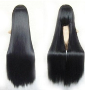 Youyoupifa 100cm Straight Costume Play Party Wig