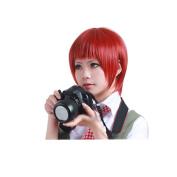 Anangelhair +Free Hair Cap Super Dangan Ronpa 2 Sayonara Zetsubou Gakuen Koizumi Mahiru Cosplay Wig Cos Hallowmas