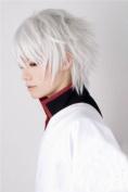 E-busienss Gin Tama Silver Soul Sakata Gintoki Full Party Cosplay Wig Wigs C72