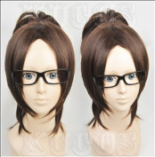 2013 Wig Attack on Titan Shingeki No Kyojin Hanji Zoe Dark Brown Cosplay Wig