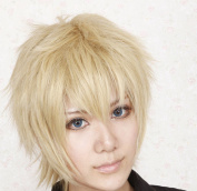 Fox X Servant The Lamento Ke Nuoer Pale Gold Anti-Alice Cosplay Wig