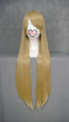 Wigny Girls Long Straight Wigs With Bang 80cm