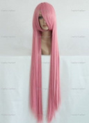 CosplayerWorld Cosplay Wigs VocAloid lukA Wig For Convention Party Show Pink Clear100cm 380g WIG-026c