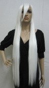 E-busienss White Long Straight Cosplay Wig Party Wigs Christmas Halloween Hair