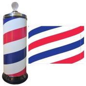 Salonskins Barbicide Jar Skin Hair Citting Kit, Barber Pole