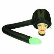 Hair Art Soft Dryer Bonnet Black