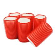 NAVA New 6Pcs Sleep In Velcro Cling Roller Sponge Hair Curl Volume Add Foam Rollers