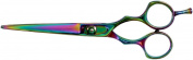 Tooltron 15cm Professional Razor Edge Hairdressing Shears, Rainbow Finish, 3190ml
