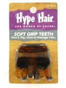 Hype Hair Soft Grip Teeth Claw Hair Clip