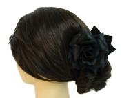 Silk Rose Flower Hair Claw Bridal Wedding