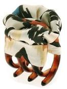 L. Erickson USA Printed Tiny Covered Jaw Clip - Hot Safari