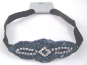 Incredible New Fancy Beaded Headband with Rhinestones