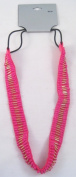New Hot Pink Fuscia Coloured Stretchable Headband