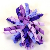 Boutique Curly Korker Hair Bow 10cm
