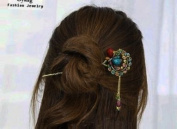 Oyang Fashion Butterfly Jewellery Crystal Hair Clips Hairpin H- for hair clip hairpins Beauty Tools