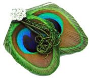 Little Cute Peacock Feather Hair Clip