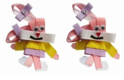 2pc Set Babs Bunny Looney Tunes Hair Bow Clips