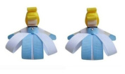 2pc Set Disney Cinderella Hair Bow Clips