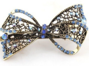 Lovely Vintage Jewellery Crystal Bowknot Hair Clips Hairpins- For Hair Clip Beauty Tools