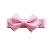 Pink Baby Bow Clip, Beautiful Gifts for Girls