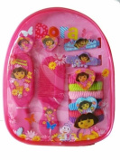 Nick Jr. Dora The Explorer Hair Accessory Gift Pack - Dora Ahir Band / Hair Clips
