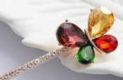 Lovely Vintage Jewellery Crystal Hair Clips Hairpins - For Hair Clip Beauty Tools
