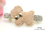 Oyang Cute Dog Jewellery Crystal Hair Clips Hairpin- for hair clip hairpins Beauty Tools