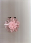 Karina French Couture Pink Flower Hair Clip K10823X1