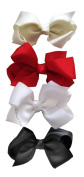 A Girl Company Classic Set of 4 Small Hair Bows