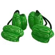 Kreepsville 666 Green Zombie Brains Hair Bands