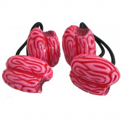 Kreepsville 666 Pink Zombie Brains Hair Bands