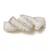 ShowJadeTM Lovely Fashion Pearl White Colour Fashion Beauty Hair Clips barrette