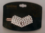 Karina French Couture Faux Diamond Head Bow