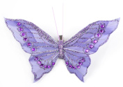 Touch of Nature 1-Piece Fancy Butterfly on Clip, 13cm , Wisteria