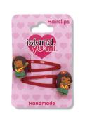 Isle Heritage Child's Hair Clip Island Yumi Aloha