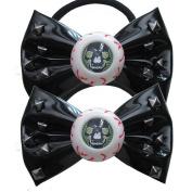 Kreepsville 666 Skull Stud Eyeball Hair Bow Bands