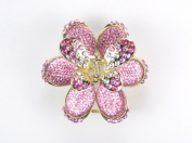 Shiny Diamond Butterfly - Hair Clip / Hair Claw for Girls & Woman