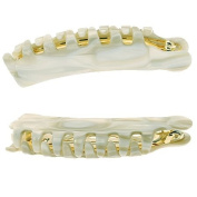 France Luxe Large Teeth Cascade - Classic