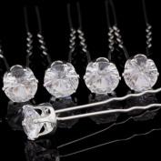 Catalina Crystal Rhinestone Hair Pin Wedding Bridal Accessories Pack of 20pcs