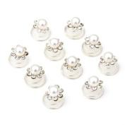 10 X Spiral twist diamond Bridal Wedding Clip Hair Pin