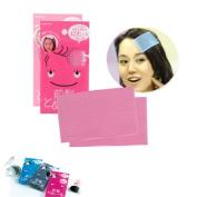 HYL 10Pcs Plastic Magic Paste Posts Fringe Hair Bangs Stickers Korean hairpin